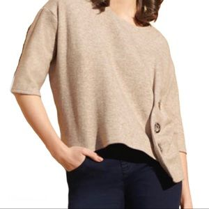 Joseph Ribkoff Deluxe Knit sweater with Grommets